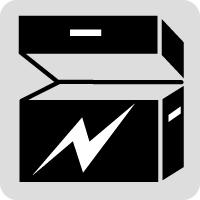 電装品収納ボックス