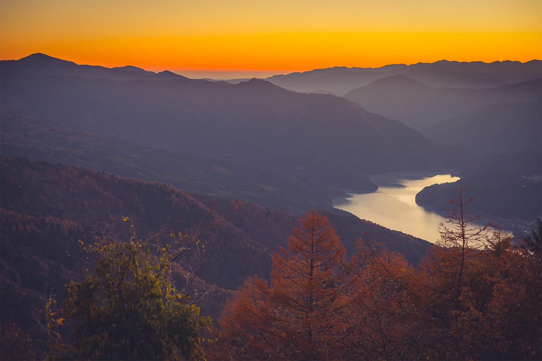 標高1500mに位置する静岡県県民の森へ