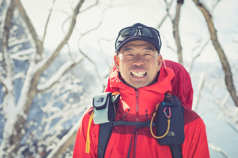 NHK BS『グレートトラバース3』にチャレンジ中の田中陽希