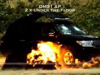銃や爆弾をも跳ね返す、史上最強のトヨタ ランドクルーザー