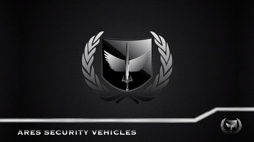 このランドクルーザーを製作したのはAres Security Vehicles