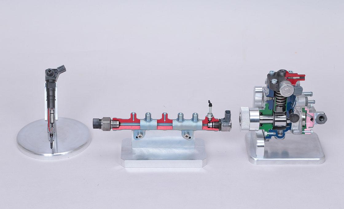 150プラドに採用されたコモンレール式燃料噴射システム