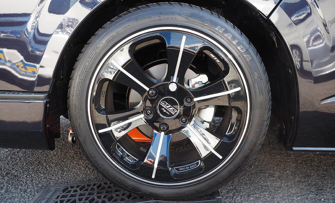 ホイールサイズによってはタイヤの選択肢が豊富になることも