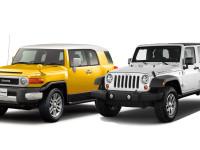 【売れてるのはコレ】トヨタ FJクルーザー&ジープラングラーJK 両車の魅力を徹底比較!