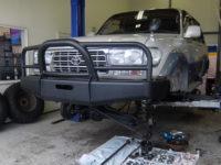 距離を走ったトヨタ ランクルでありがちな修理、ランクル80のアクスルオーバーホール紹介