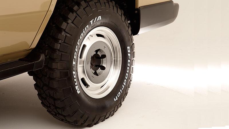タイヤの大径化でスタイリングが引き締まる