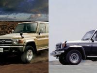 トヨタ ランドクルーザー70 :再販モデルと旧モデルの違い