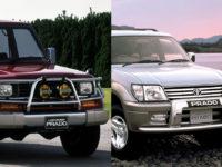 トヨタ ランドクルーザー70プラドと90プラドを徹底比較