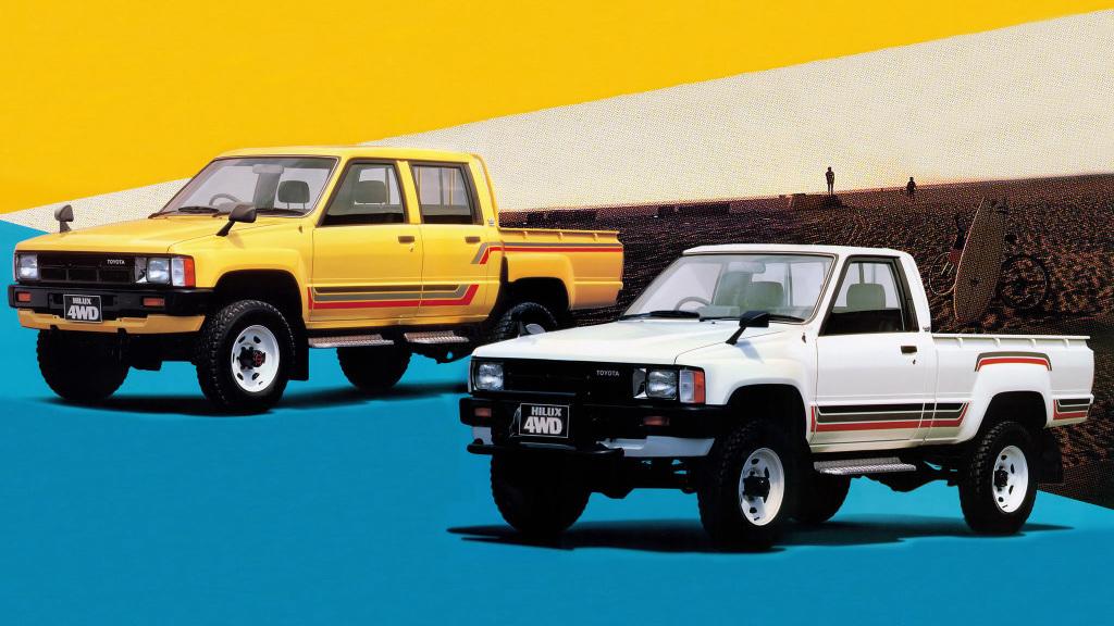 ハイラックスサーフのルーツはピックアップトラックのハイラックス