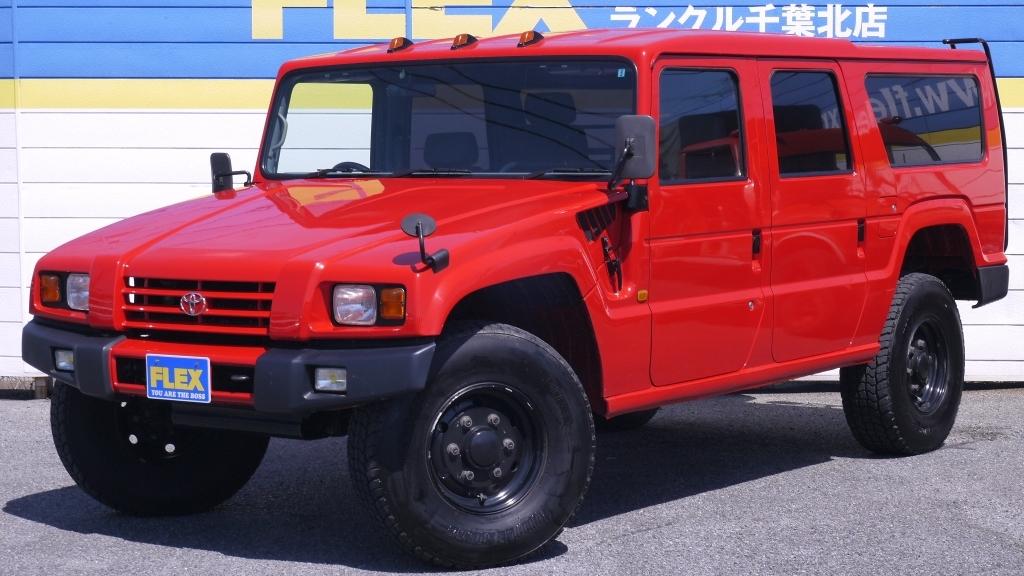 ランドクルーザーを超えた最強の4WD、和製ハマー、トヨタ メガクルーザー