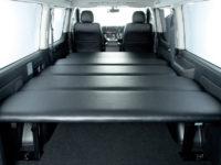 【売れてるのはコレ】荷室の有効活用や車中泊に対応する、トヨタ ハイエースバン、レジアスエース用オリジナルベッドキット!
