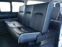 【車好きがこだわる】トヨタ ハイエースワゴン用 FLEXオリジナルシート ARRANGE CT