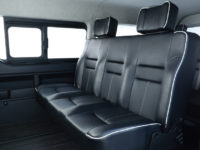 ハイエースワゴン用 FLEXオリジナルシート ARRANGE ST LOUNGE