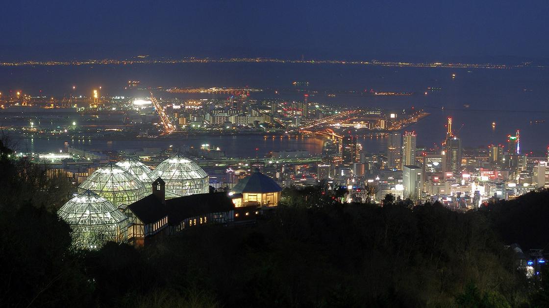 関西の穴場夜景ドライブスポット