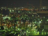 名古屋から近い四日市の夜景