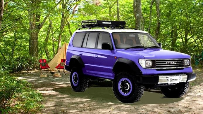 Renocaカラーボム 紫