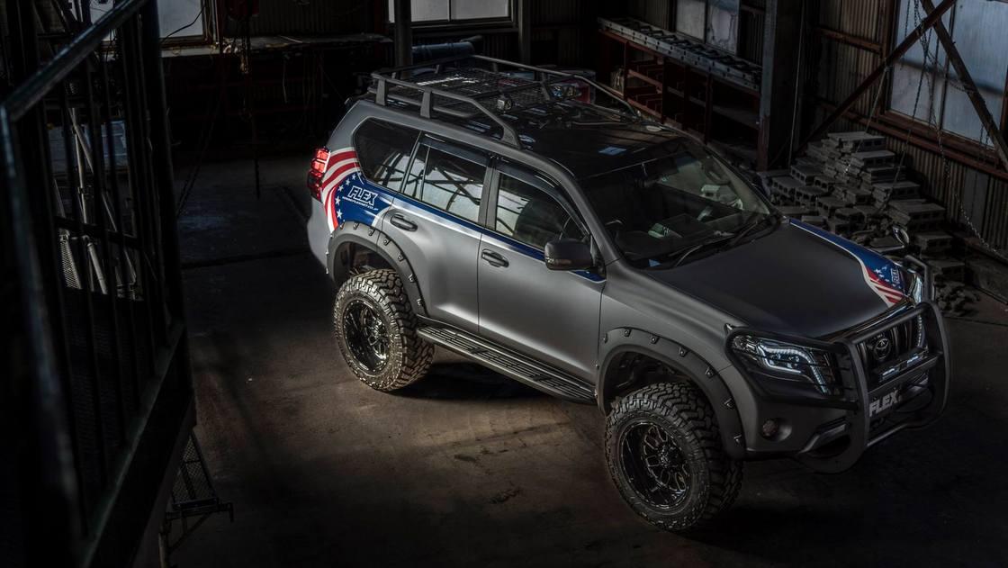 フレックスカスタム150プラド 2017デモカー