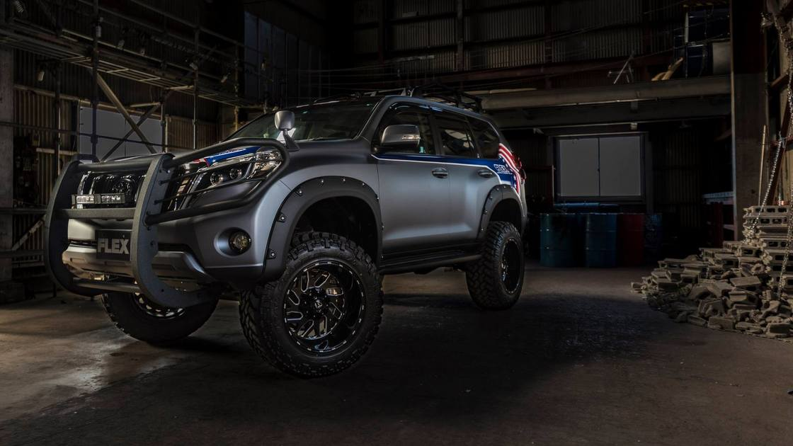 150プラド FLEX2017デモカー