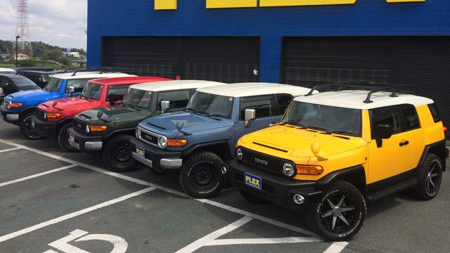 【売れてるのはコレ】トヨタ FJクルーザーの新車がまだ買える! フレックスなら豊富な在庫から選び放題