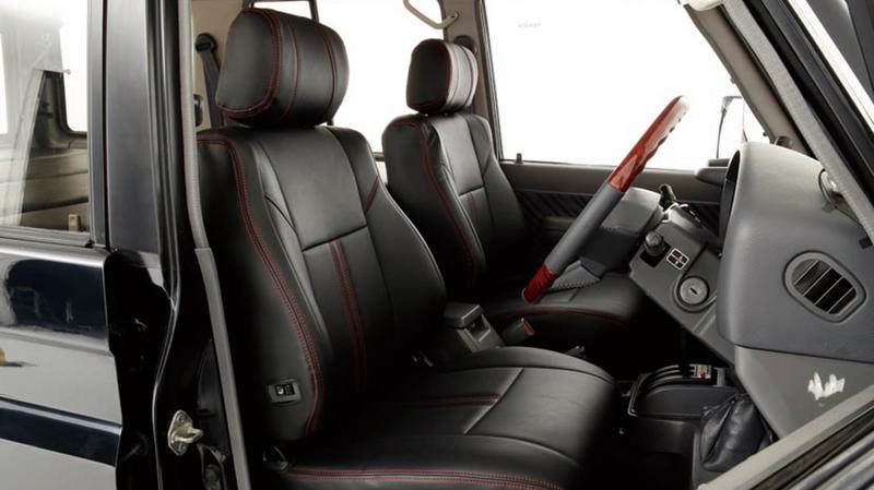 【車好きがこだわる】ランドクルーザープラド70用 レザー調シートカバー