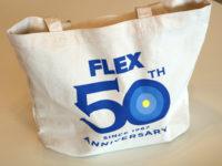 フレックス50周年記念トートバッグ2