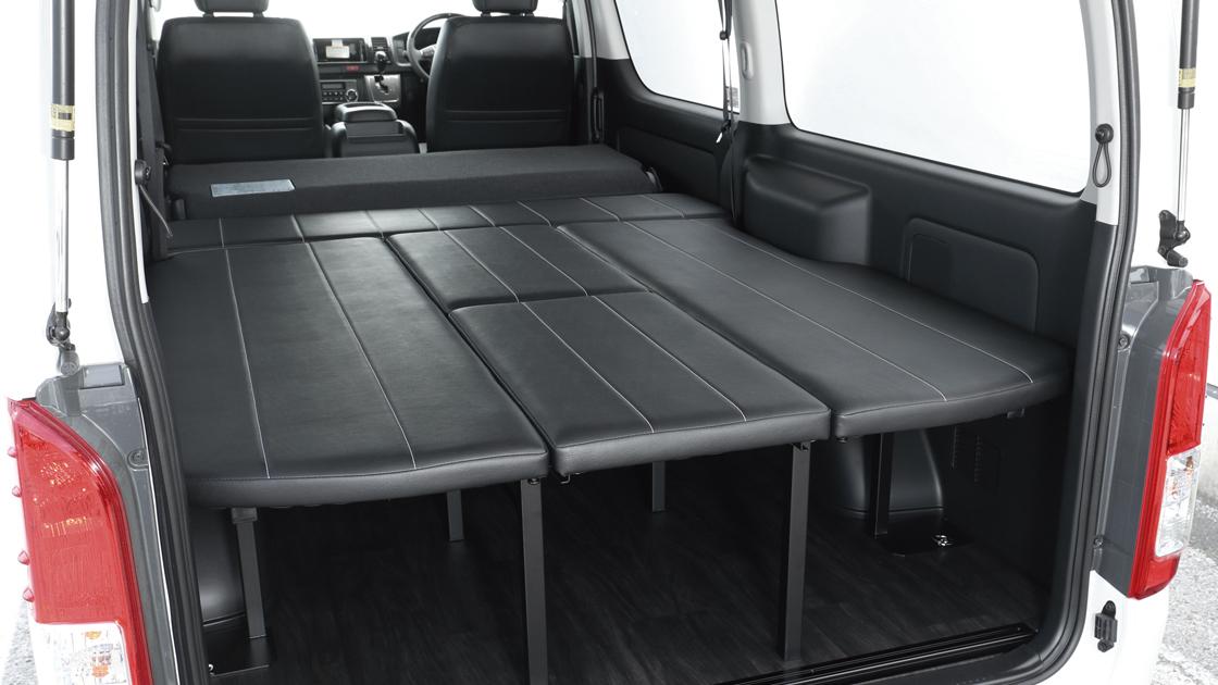 トヨタ ハイエースバン用 新基準FLEXオリジナルシート ARRANGE FU-N