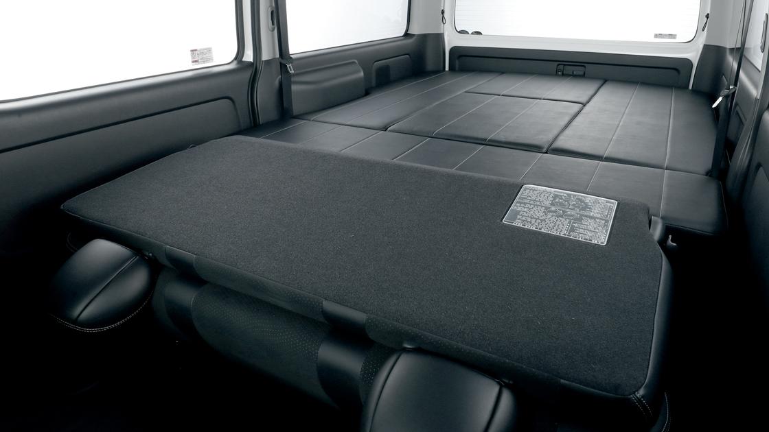 トヨタ ハイエースバン用 新基準FLEXオリジナルシート ARRANGE FU-W