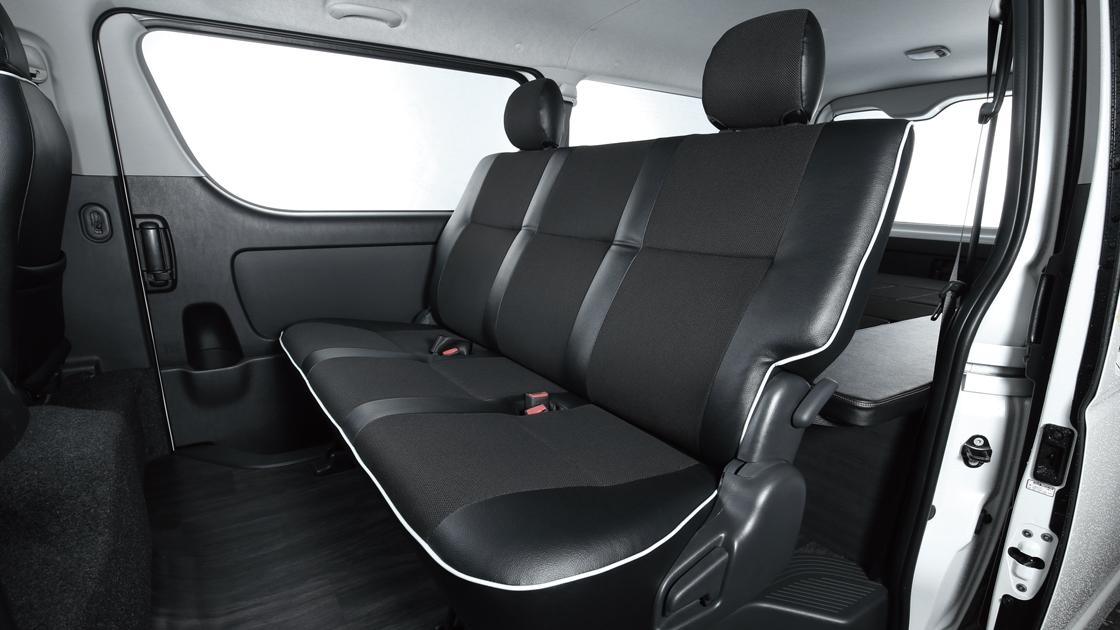 トヨタ ハイエースバン用 新基準FLEXオリジナルシート Ver.4