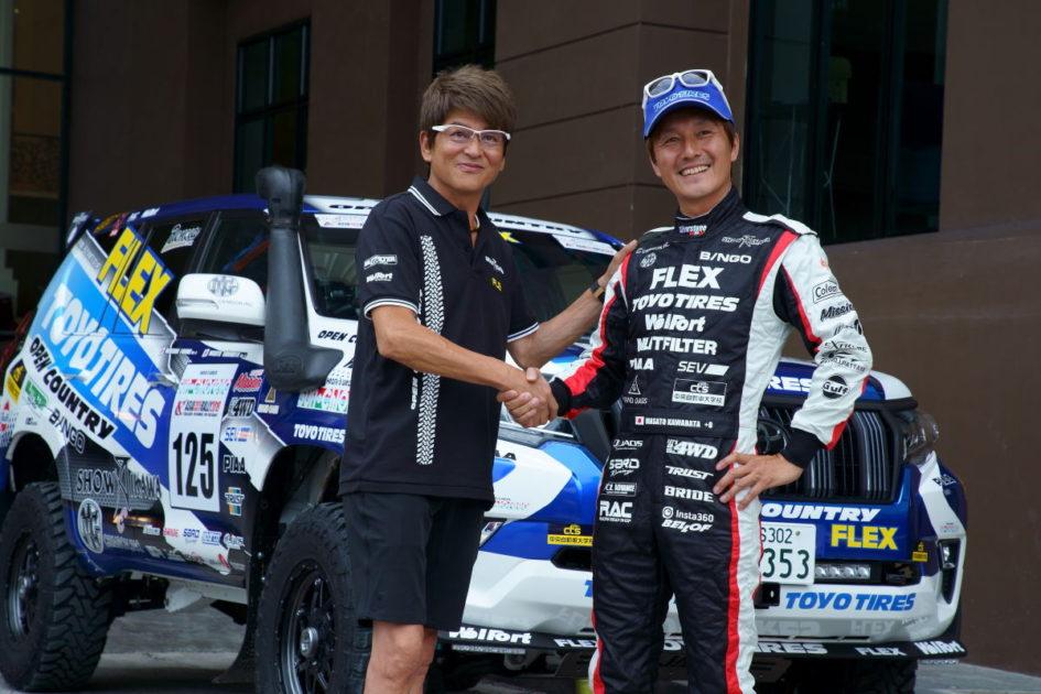FLEX SHOW AIKAWA Racing with TOYO TIRES 川畑真人選手