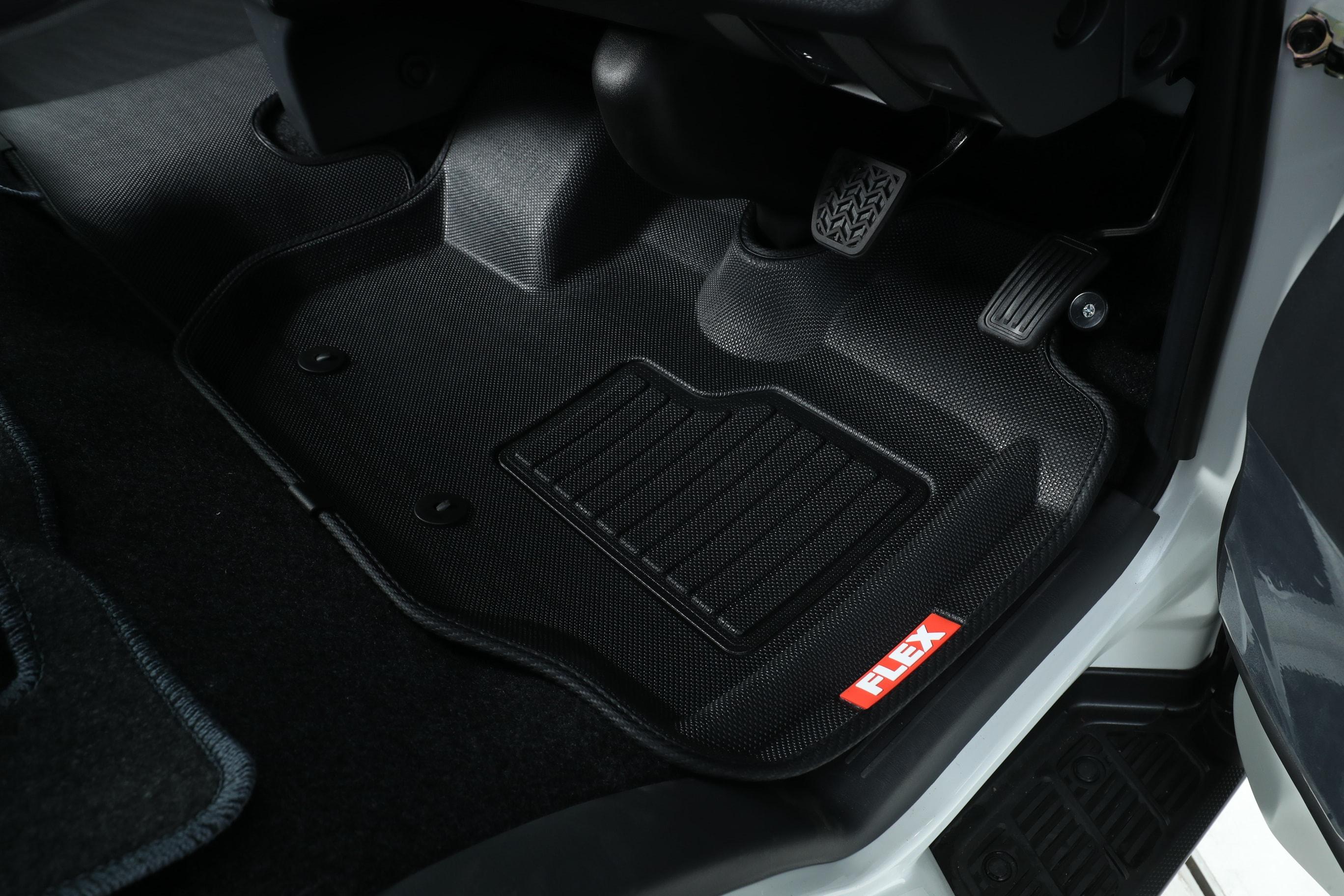 【車好きがこだわる】FLEXオリジナル ハイエース 3Dフロアマット