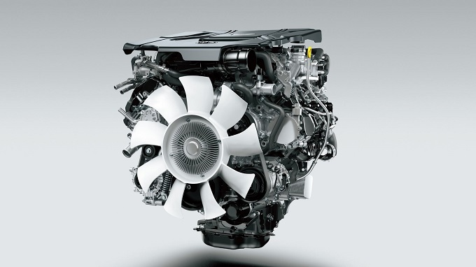 300系(海外仕様) V6 ディーゼル ツインターボエンジン